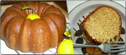 Lemon-bundt